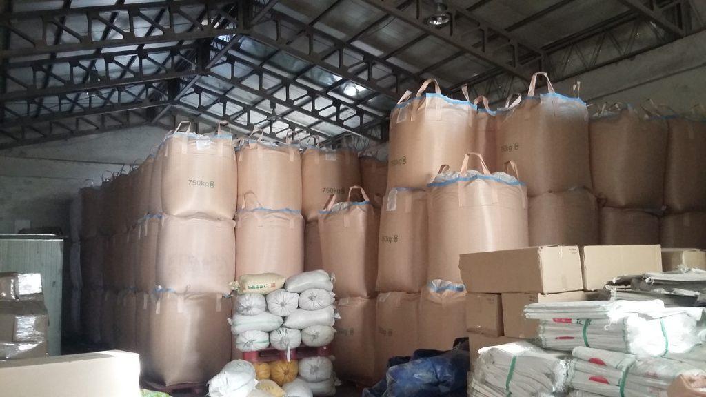 model penyimpanan padi